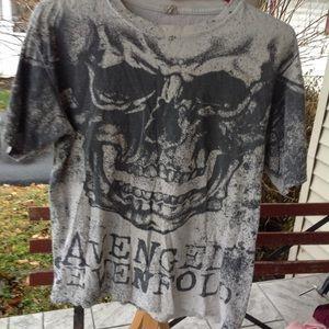 Mens avenged sevenfold shirt.
